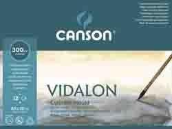 CANSON BLOC VIDALON ACUARELA 12 HOJAS 300G/M