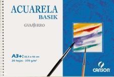 CANSON BLOC ACUARELA GUARRO BASIC