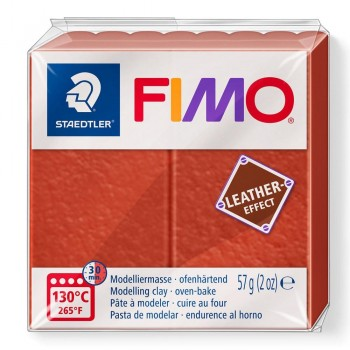 STAEDTLER PASTA FIMO EFFECT LEATHER