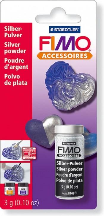 STEADTLER FIMO POLVO DE PLATA