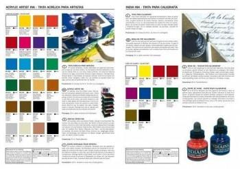 ACRYLIC ARTIST INK -TINTA  ACRÍLICA PARA  ARTISTAS 30 ML-VALLEJO
