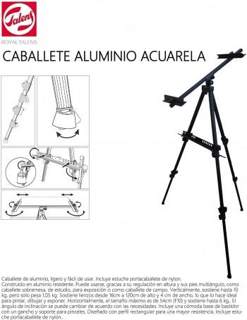 TALENS CABALLETE ALUMINIO ACUARELA