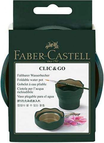 FABER-CASTELL VASO PLEGABLE PARA EL AGUA