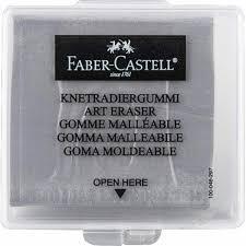 FABER-CASTELL CAJA CON GOMA MALEABLE ESTUCHE