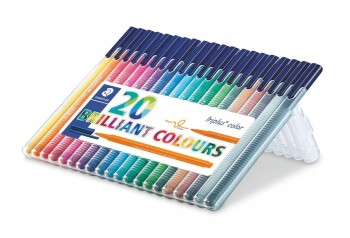 STAEDTLER ROTULADOR FINELINER TRIPLUS COLOR SET 20 UDS