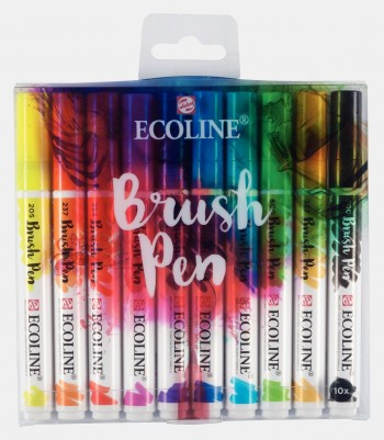 TALENS ECOLINE BRUSH PEN SETS