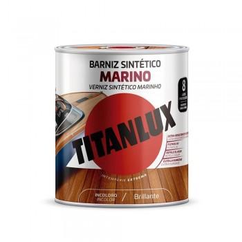 TITANLUX BARNIZ SINTÉTICO MARINO INCOLORO BRILLANTE