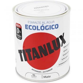 TITANLUX ESMALTE AL AGUA ECOLÓGICO PARA INTERIOR Y EXTERIOR