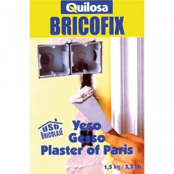 QUILOSA BRICOFIX YESO 1,5 KG