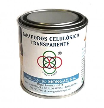MONGAY TAPAPOROS CELULÓSICO TRANSPARENTE