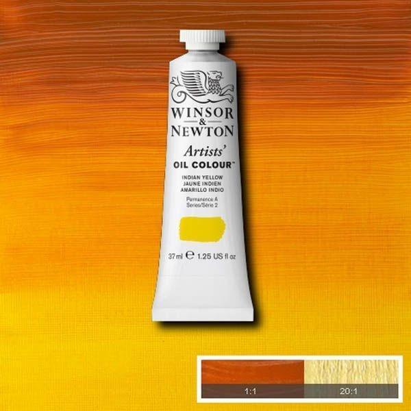 WN OLEO ARTISTS OIL COLOUR 37ML AMARILLO INDIO