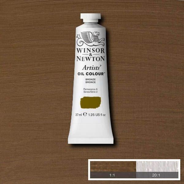 WN OLEO ARTISTS OIL COLOUR 37ML BRONCE
