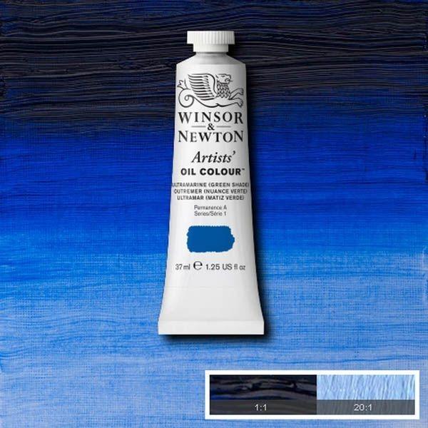 WN OLEO ARTISTS OIL COLOUR 37ML ULTRAMAR (MATIZ VERDE)