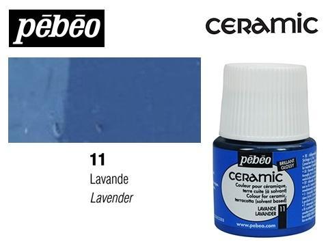 PEBEO CERAMIC 45 ML N. 11 LAVANDA
