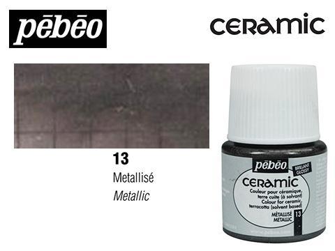 PEBEO CERAMIC 45 ML N. 13 METALICO