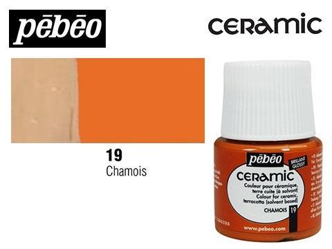PEBEO CERAMIC 45 ML N. 19 AVELLANA
