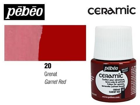 PEBEO CERAMIC 45 ML N. 20 GRANATE