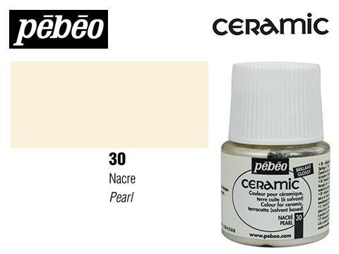 PEBEO CERAMIC 45 ML N. 30 NÁCAR