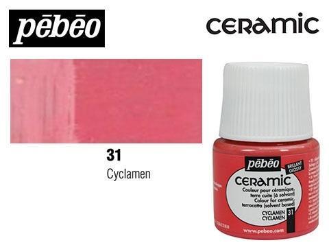PEBEO CERAMIC 45 ML N. 31 CICLAMEN