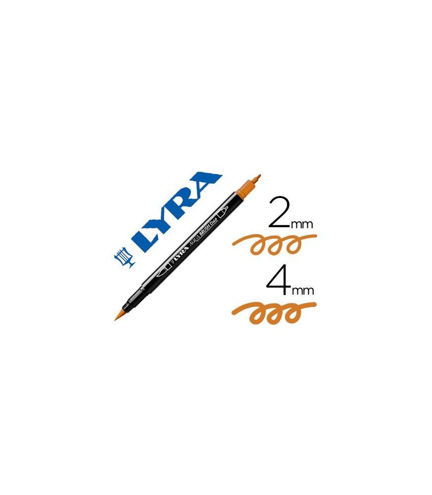 Rotulador Lyra Aqua Brush Duo Ocre Tostado