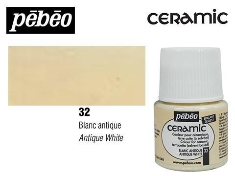 PEBEO CERAMIC 45 ML N. 32 BLANCO ANTIGUO