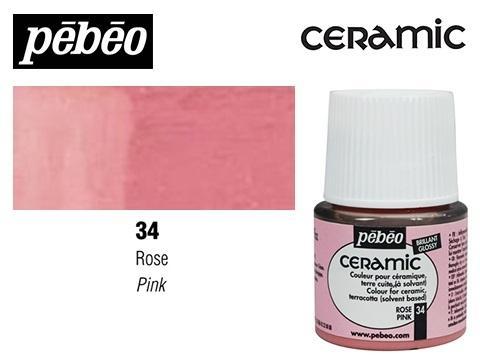 PEBEO CERAMIC 45 ML N. 34 ROSA