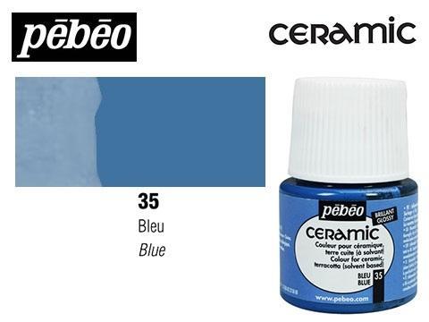 PEBEO CERAMIC 45 ML N. 35 AZUL