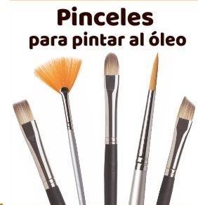 PINCELES PARA ÓLEO
